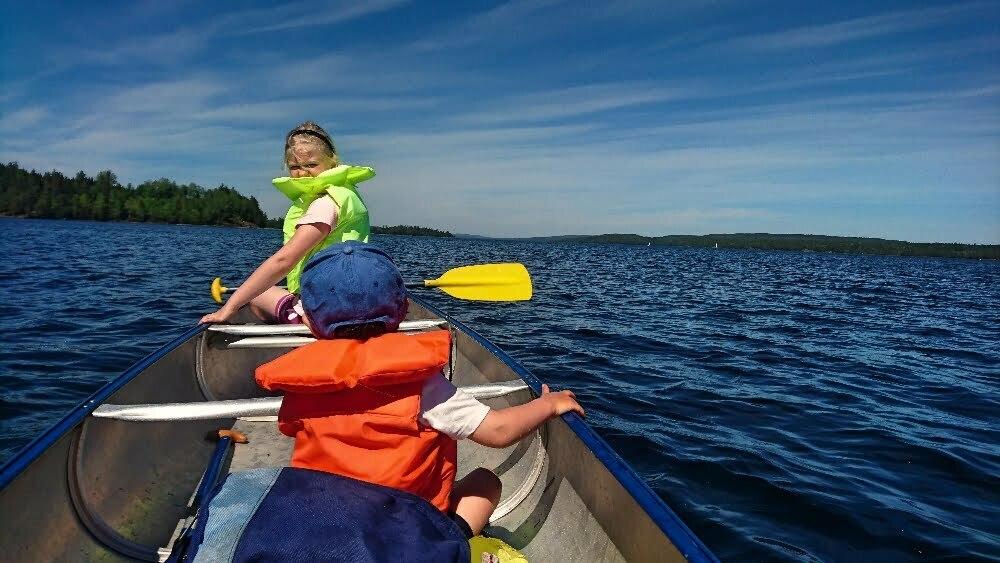 kanadensarutbildning, skillnad mellan kanot och kanadensare